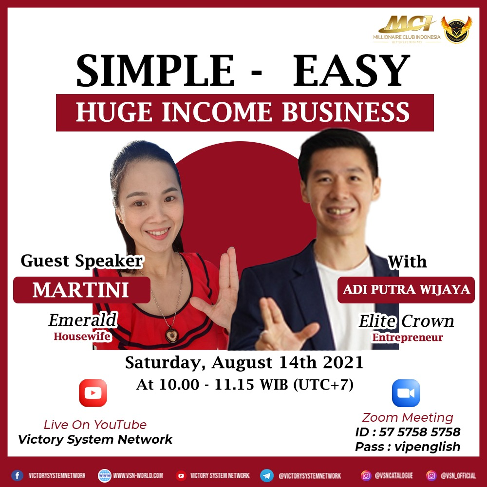 Simple Easy Huge Income Business